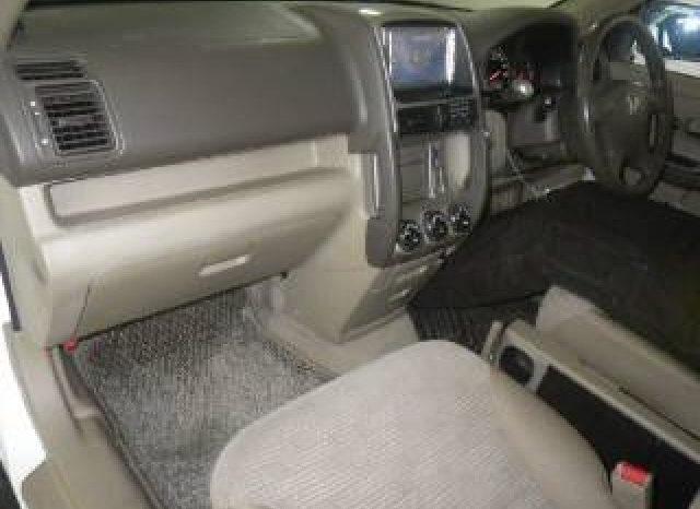 Honda Crv Model 2005 full