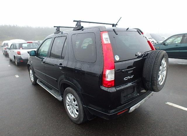 Honda Crv Model 2006 full