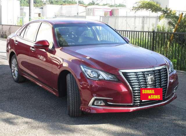 TOYOTA CROWN ROYAL SALOON MODEL 2017 full
