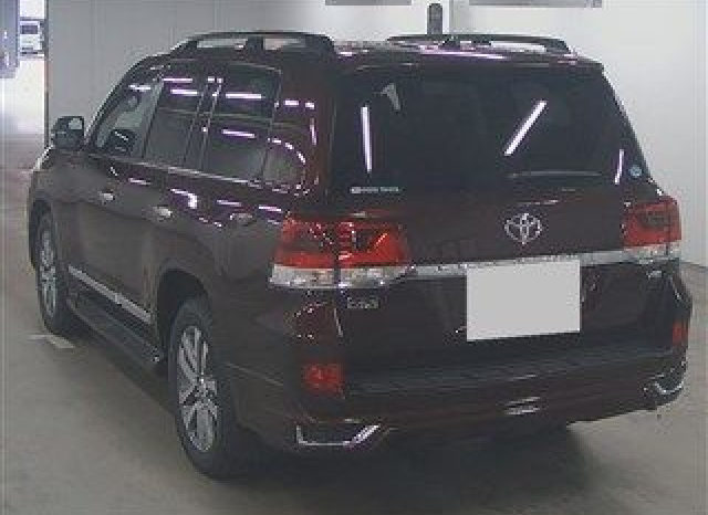 TOYOTA LAND CRUISER MODEL 2017 ZX full
