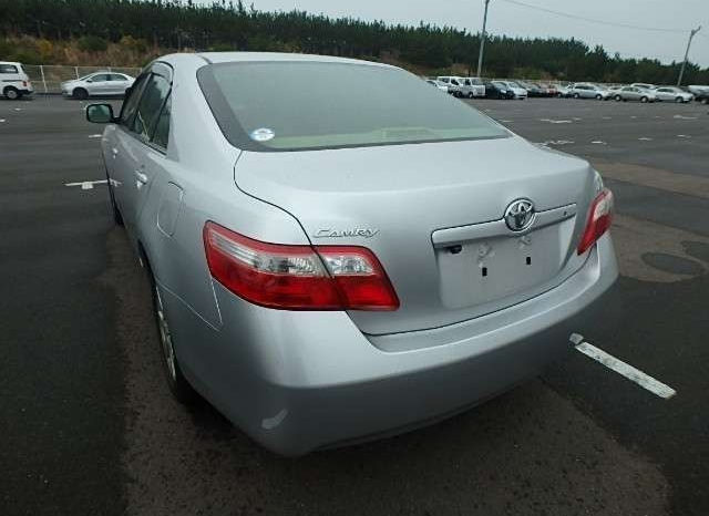 Toyota Camry Model 2007 full
